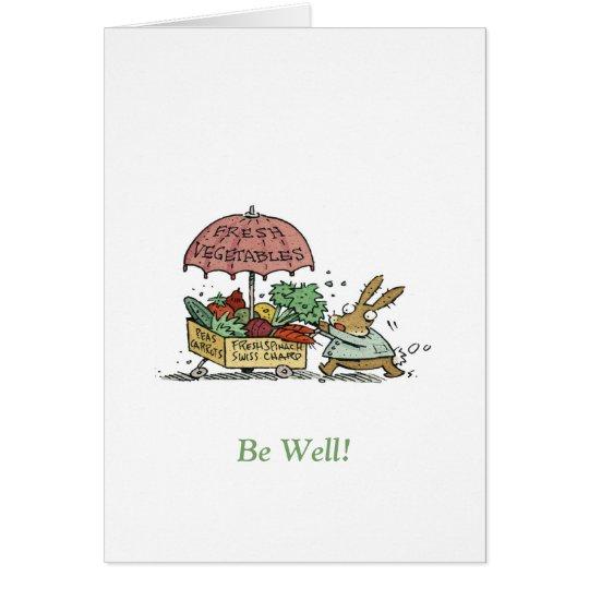 Seien Sie gut! Grußkarte