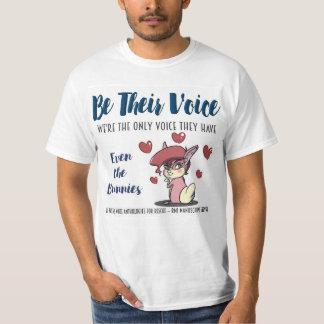 SEIEN Sie IHRE Stimme-Tier Rettung T-Shirt