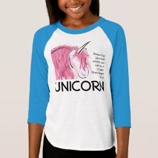 Seien Sie immer sich 3/4 T-Stück Mädchen T-Shirt