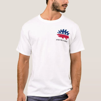 Seien Sie liberalistisches #feelthejohnson mit T-Shirt
