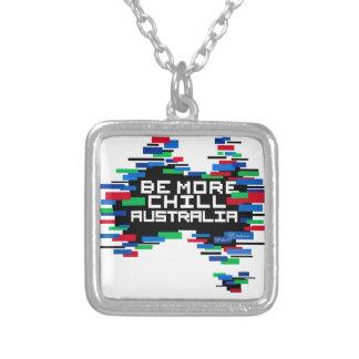 SEIEN SIE MEHR KALTES AUSTRALIEN VERSILBERTE KETTE