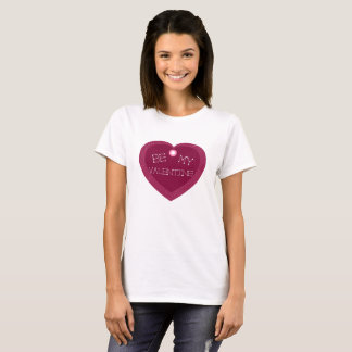 Seien Sie mein Valentinsgruß-T-Stück T-Shirt