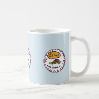 Seien Sie nette Schildkröte-Tasse Kaffeetasse