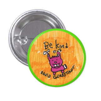 Seien Sie nettes Häschen Runder Button 3,2 Cm
