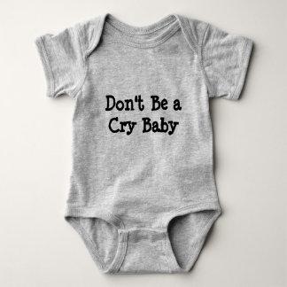Seien Sie nicht ein Cary Baby onsie Baby Strampler