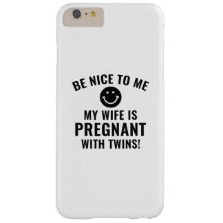 Seien Sie Nizza zu mir Barely There iPhone 6 Plus Hülle