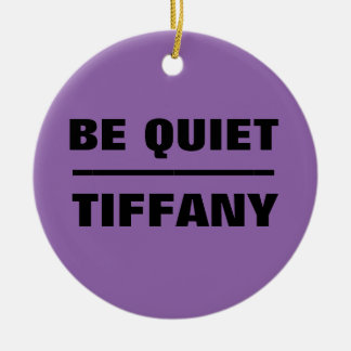 Seien Sie ruhiges Tiffany Keramik Ornament