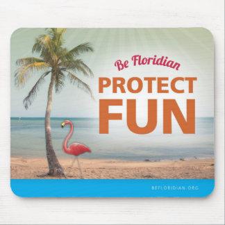 Seien Sie schützen Spaß-Mausunterlage Florida Mousepad