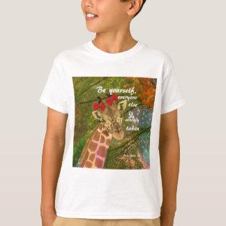 Seien Sie sich keine Angelegenheit, die andere T-Shirt