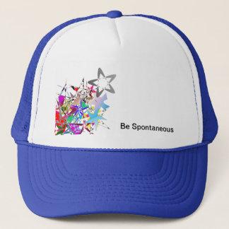 """Seien Sie spontaner"" Hut Truckerkappe"