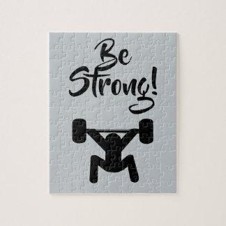 Seien Sie stark