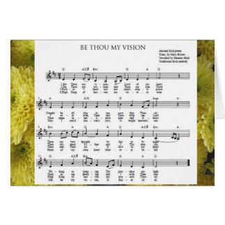 """""""Seien Sie Tausend meine Vision"""" Notecard Karte"""