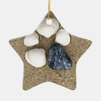 Seien Sie unterschiedlich Keramik Stern-Ornament