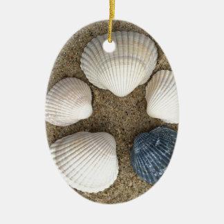 Seien Sie unterschiedlich Ovales Keramik Ornament