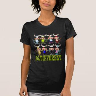 SEIEN Sie VERSCHIEDENE lustige flippige Kühe T-Shirts
