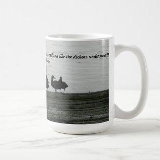 Seien Sie wie eine Ente Kaffeetasse