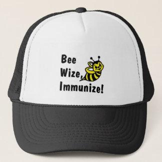 Seien Sie Wize immunisieren! Truckerkappe