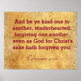 Seien Sie YE-Art zu gegenseitig - Ephesians Poster
