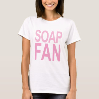Seifen-Fan-Rosa T-Shirt