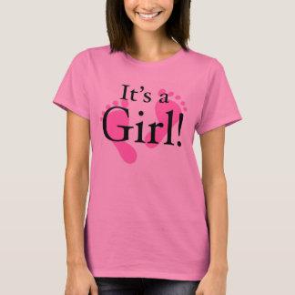 Sein ein Mädchen - Baby, neugeboren, Babyparty T-Shirt