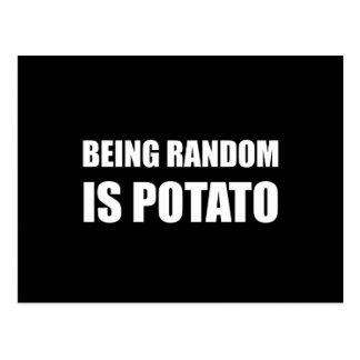 Sein gelegentlich ist Kartoffel Postkarten