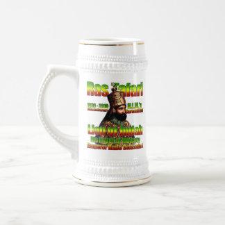 sein Kaisermajestäts-Kaiser Haile Selassie I Bierglas