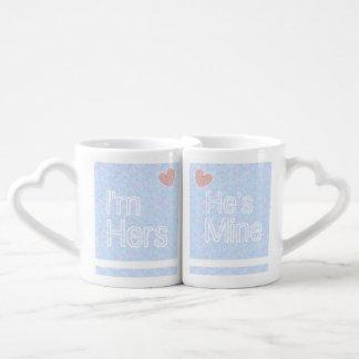 Sein und ihrs verbindet Tassen-Set Liebestassen