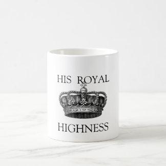 Seine königliche Hoheits-Tee-Tasse Kaffeetasse