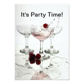 Seine Party-Zeit 12,7 X 17,8 Cm Einladungskarte