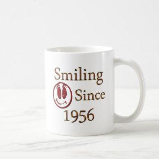 Seit 1956 lächeln kaffeetasse