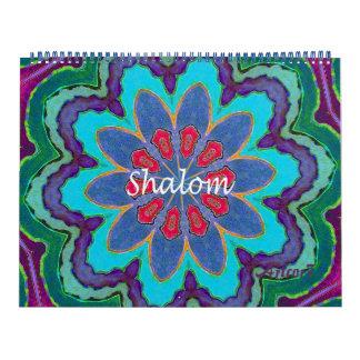 Seite 2017 Kalender Shalom Mandala-enorme zwei