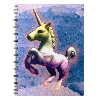 Seiten des Unicorn-Foto-Notizbuch-80 (gebranntes Spiralblöcke