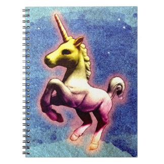 Seiten des Unicorn-Foto-Notizbuch-80 Notizbücher