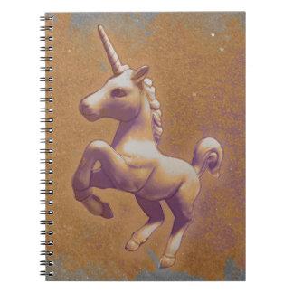 Seiten des Unicorn-Foto-Notizbuch-80 Spiralblock