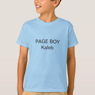 Seiten-Jungen-T - Shirt