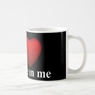 Selbst-Glaube Kaffeetasse