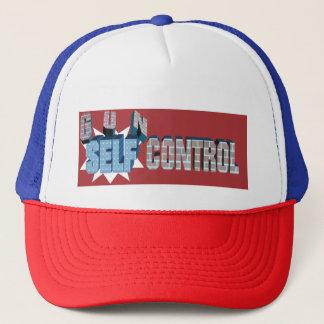 Selbst-Kontrolle über Gewehr-Kontrollen-Kappe Truckerkappe