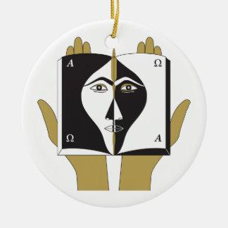 Selbsterkenntnis Keramik Ornament