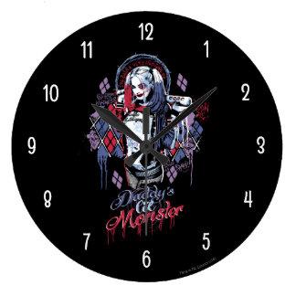 Selbstmord-Gruppe | Harley Quinn schwärzte Uhren