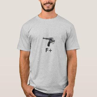 Selbstmord-Revolver F+ T-Shirt
