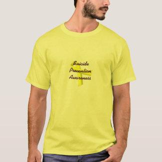 Selbstmord-Verhinderungs-Bewusstseins-Shirt T-Shirt
