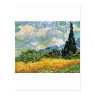 Selbstporträt durch Vincent van Gogh Postkarte