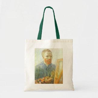 Selbstporträt vor Gestell, Vincent van Gogh Tragetasche