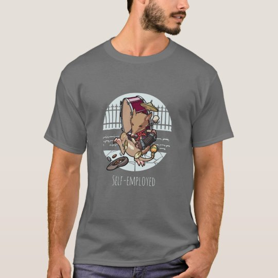Selbstständiger  MannBandicoot Busking Cartoon T-Shirt