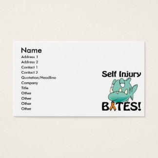 Selbstverletzung BISSE Visitenkarte