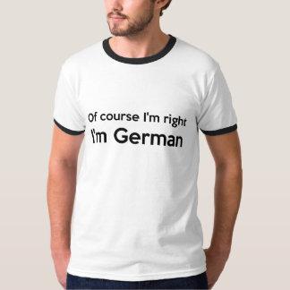 Selbstverständlich bin ich Recht, das ich deutsch T-Shirt