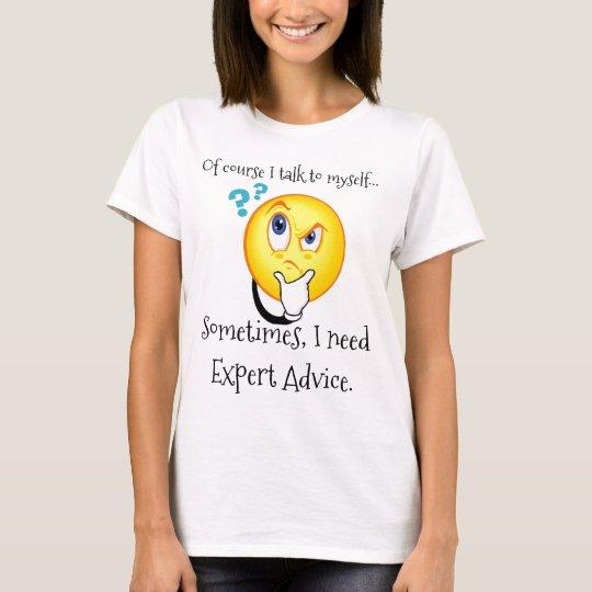 Selbstverständlich spreche ich mit mich (lustiges T-Shirt