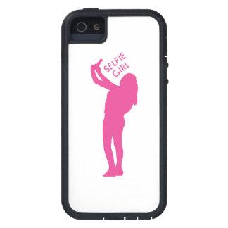 Selfie Mädchen-Grafik iPhone 5 Schutzhüllen