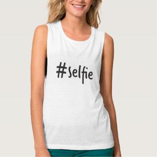 #selfie Muskelunterhemd Tank Top
