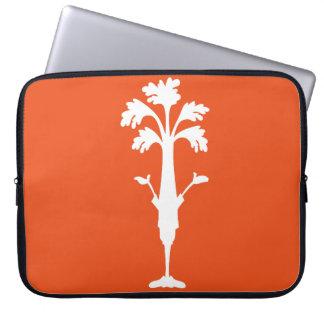 """""""Sellerie Charles"""" 15"""" orange Laptop-Hülse Laptop Sleeve"""